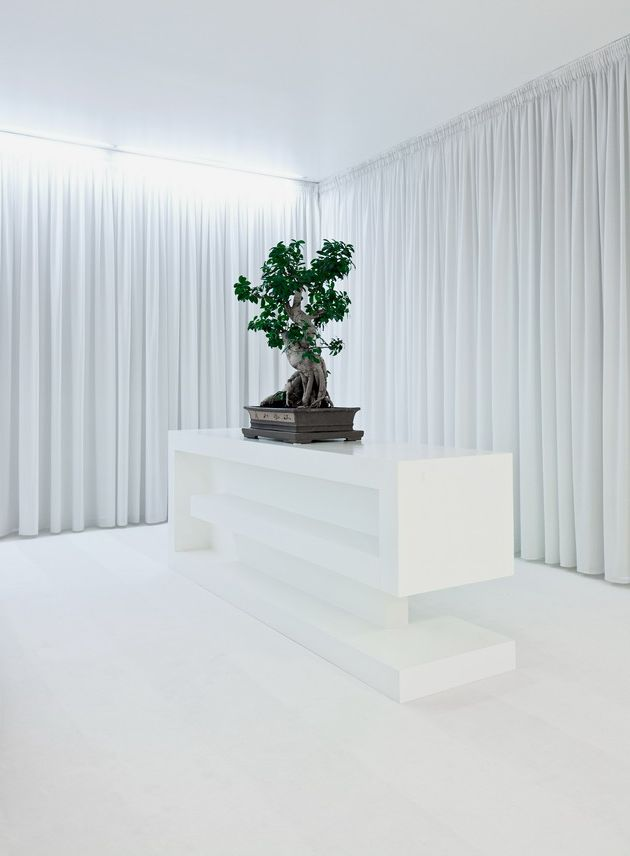 The scenography apartment interior by aa studio seen on